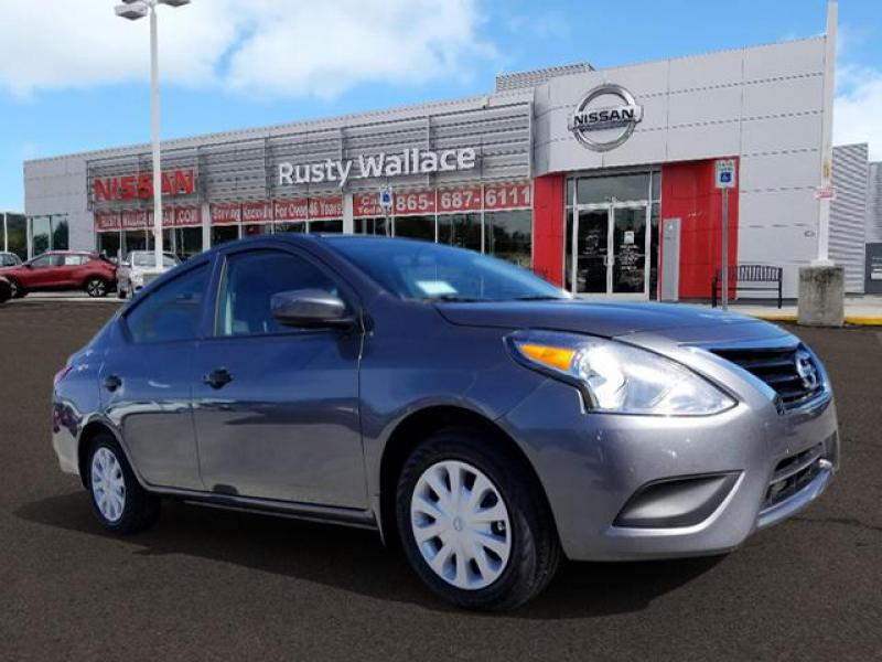 New 2019 Nissan Versa S Plus