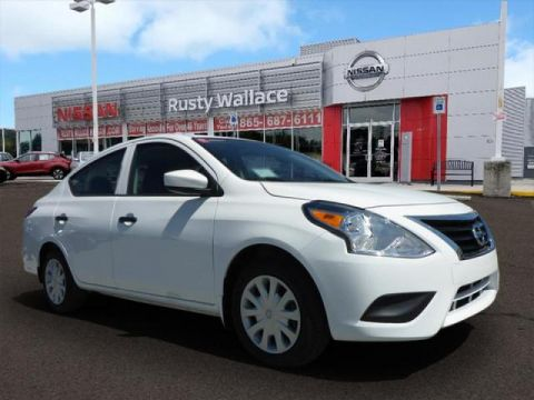 Certified Pre-Owned 2018 Nissan Versa S Plus